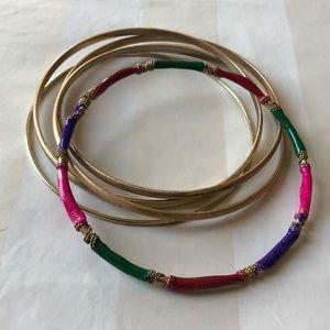 Jewelry - 🌸3/$25 Colorful bangle set